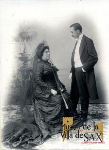Joaquín Valdés Alpañés vestido con chaqué en su boda. (Colección Julia Valdés)